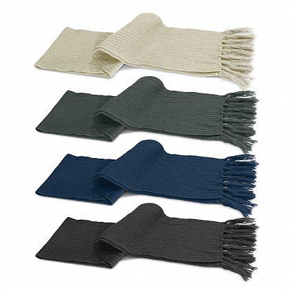 Nebraska Cable Knit Scarf