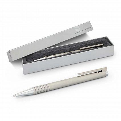 Lamy Logo Pen - Brushed Steel