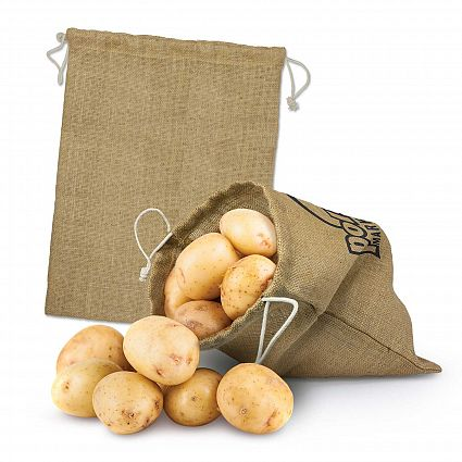 Jute Produce Bag - Large