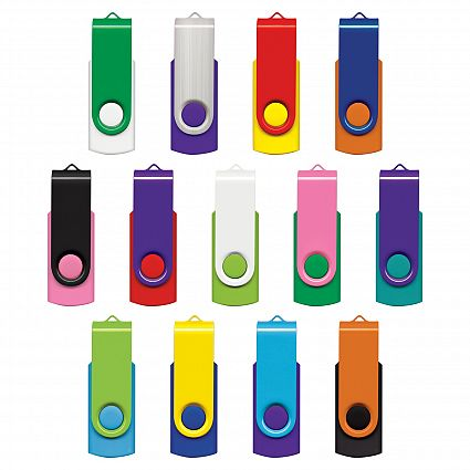 Helix 4GB Mix & Match Flash Drive
