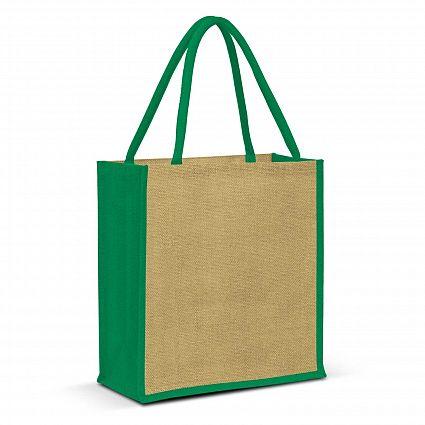 Lanza Jute Tote Bag