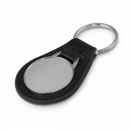 Baron Leather Key Ring - Round