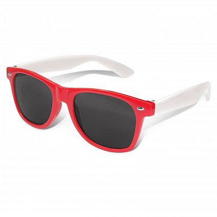 Malibu Premium Sunglasses - White Arms