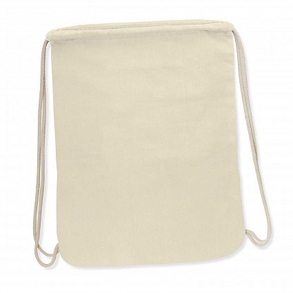 Durban Cotton Drawstring Backpack