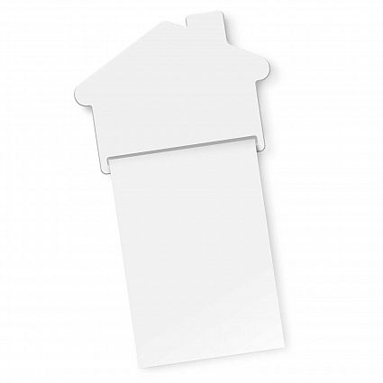 Magnetic House Memo Pad A7 - Full Colour