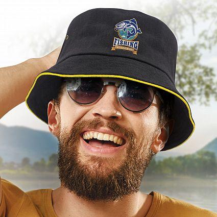 Bondi Bucket Hat - Coloured Sandwich Trim