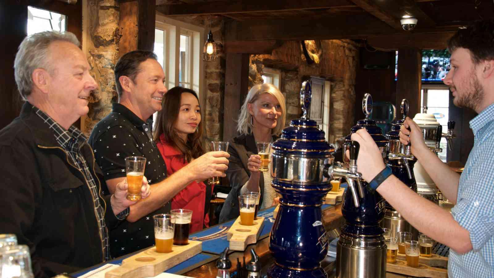 Hahndorf Beer Tasting