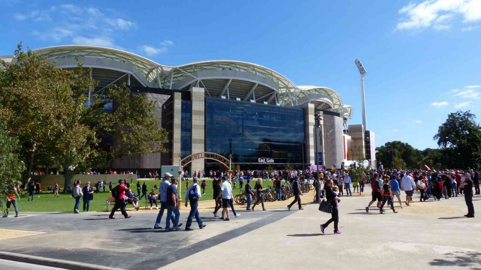 Adelaide Oval East Gate