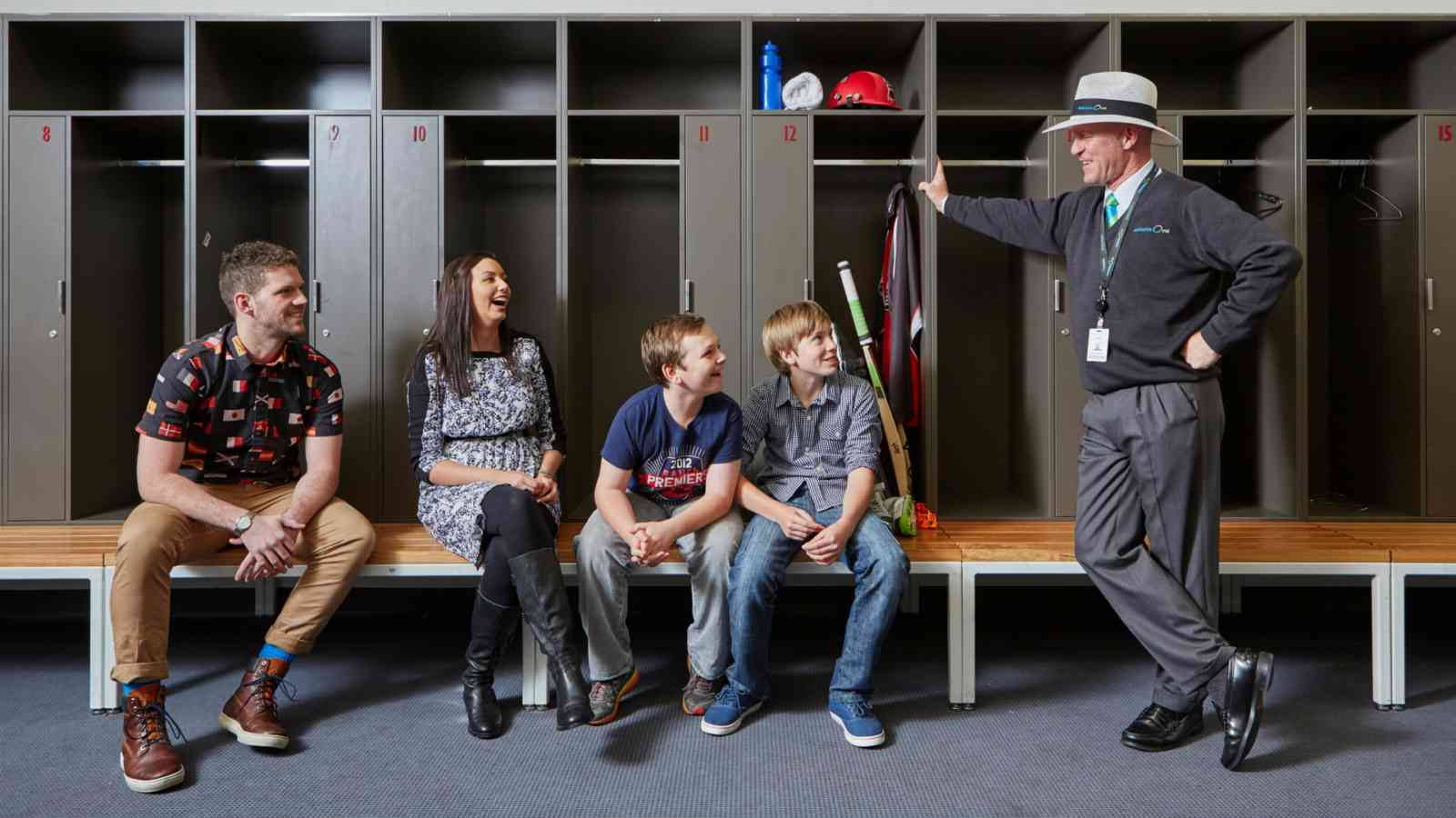 Adelaide Oval Locker Rooms
