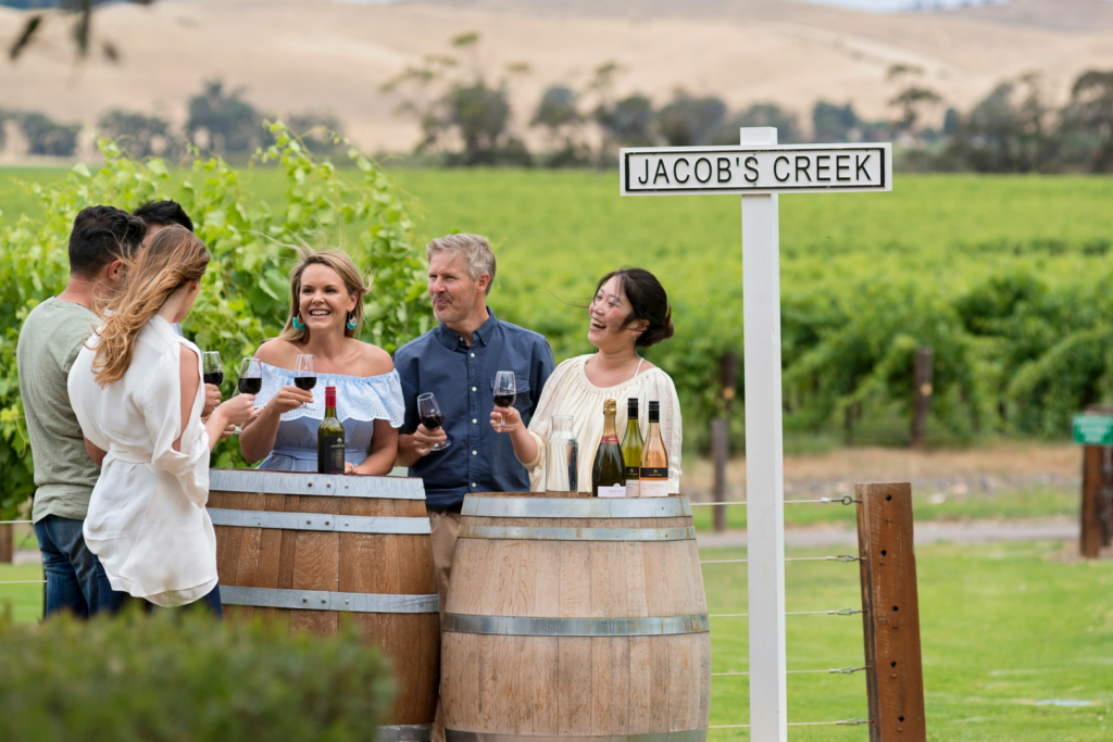 Barossa Jacobs Creek Wine