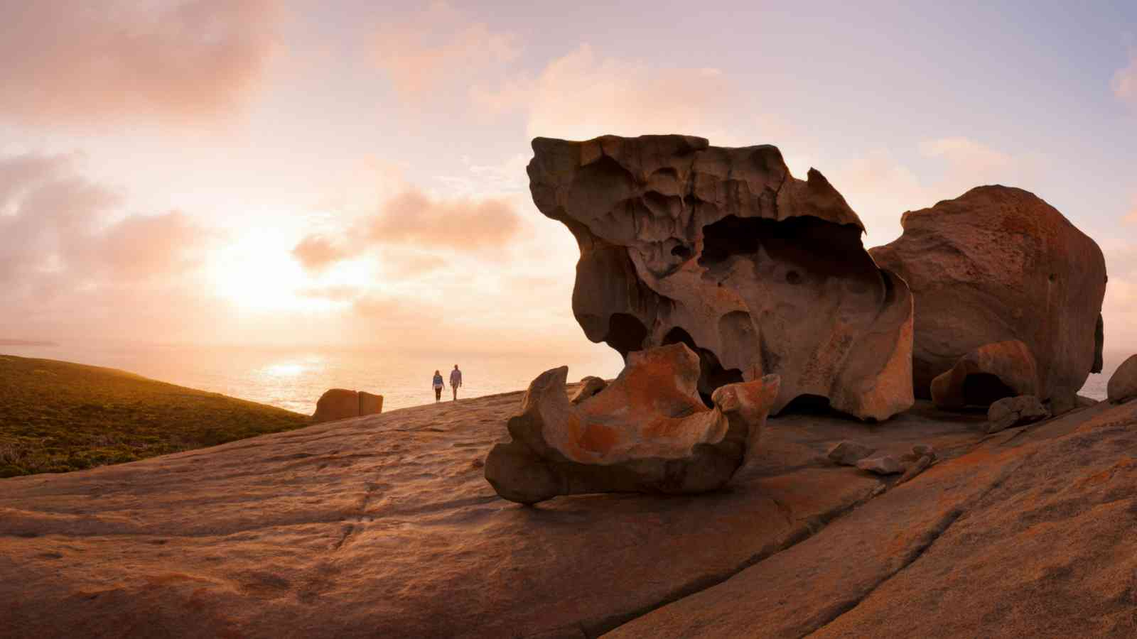 Kangaroo Island Remarkable Rocks Sunset