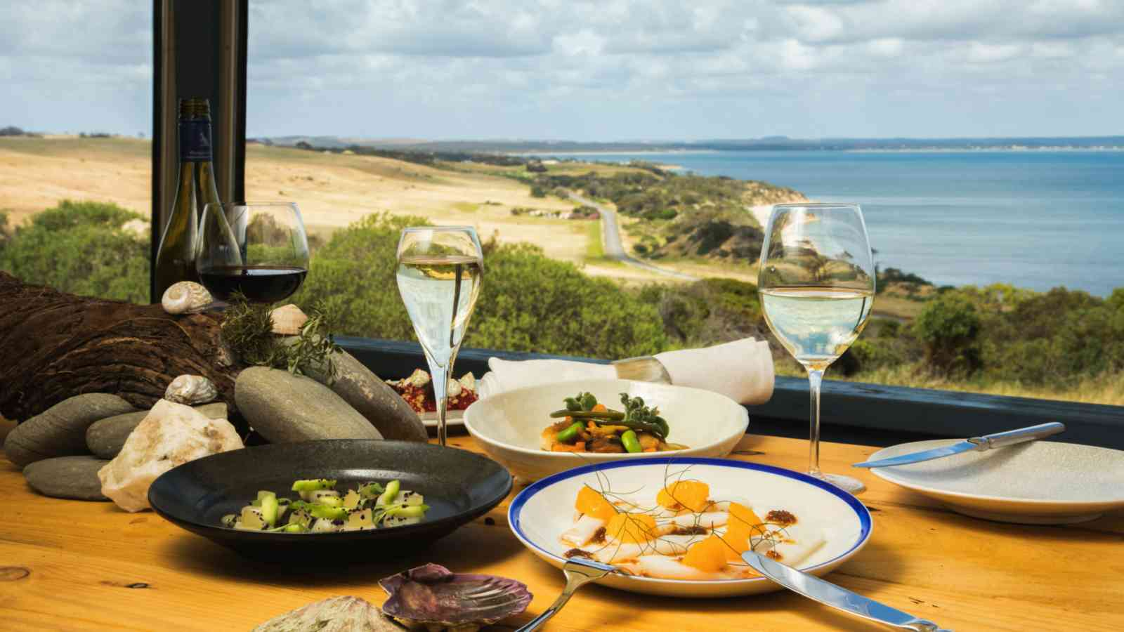Kangaroo Island Sunset Food Wine