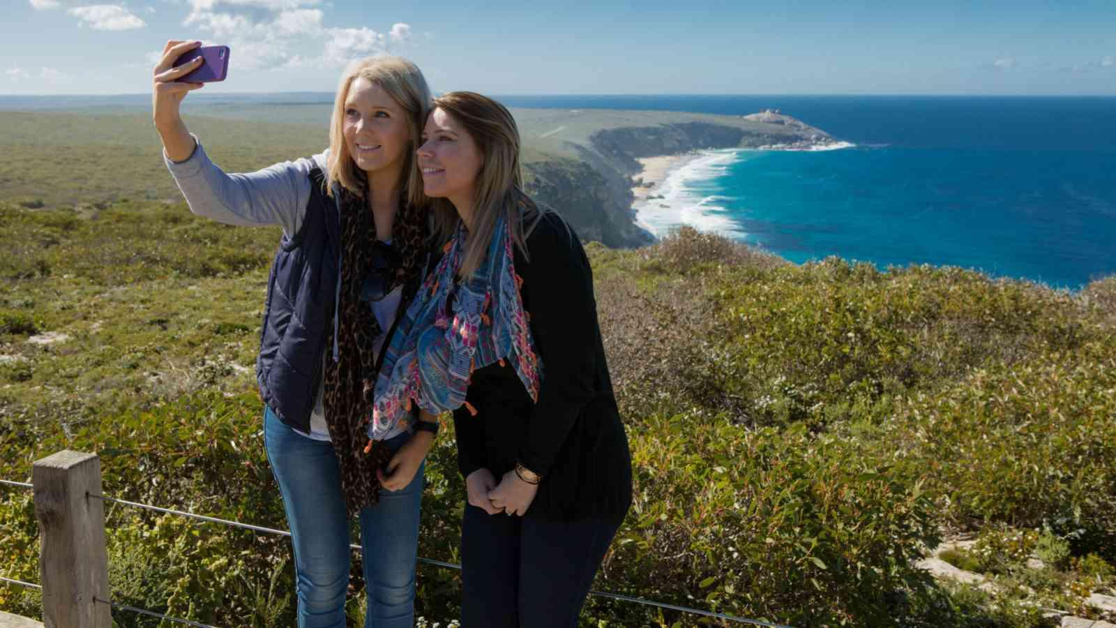 Kangaroo Island Selfie