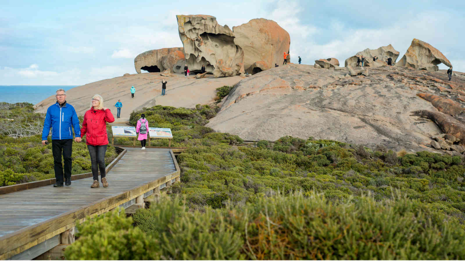 Kangaroo Island Remarkable Rocks Walk