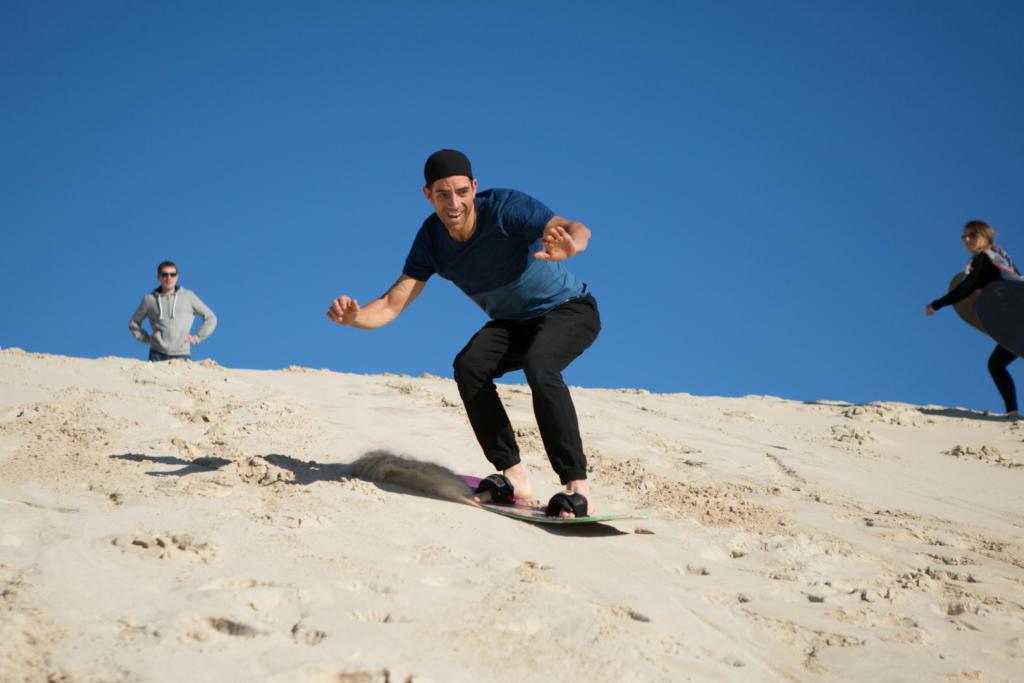 Kangaroo Island Sand Boarding