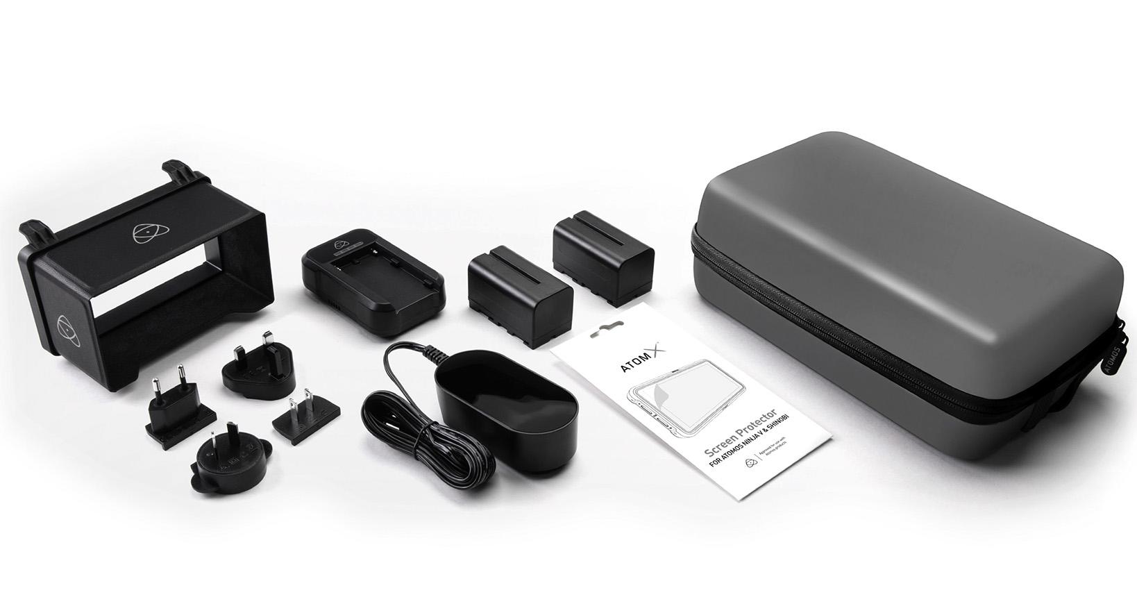 AtomX 5″ Accessory Kit