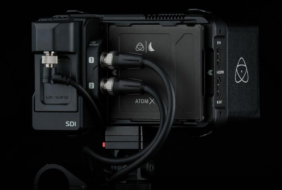 <br/>RAW Recording<br>from SDI Cameras