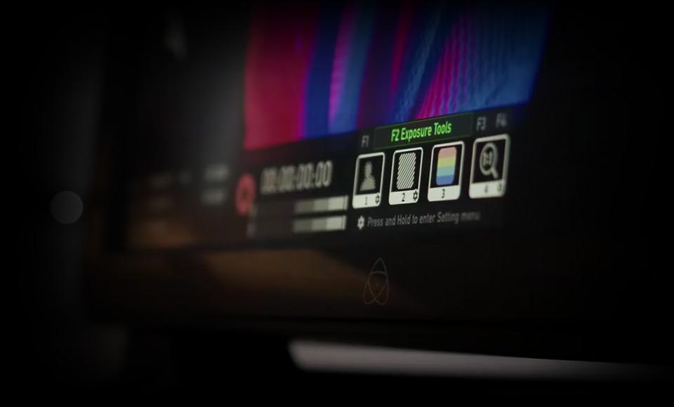 Control via Atomos Button Bar or AtomRemote App