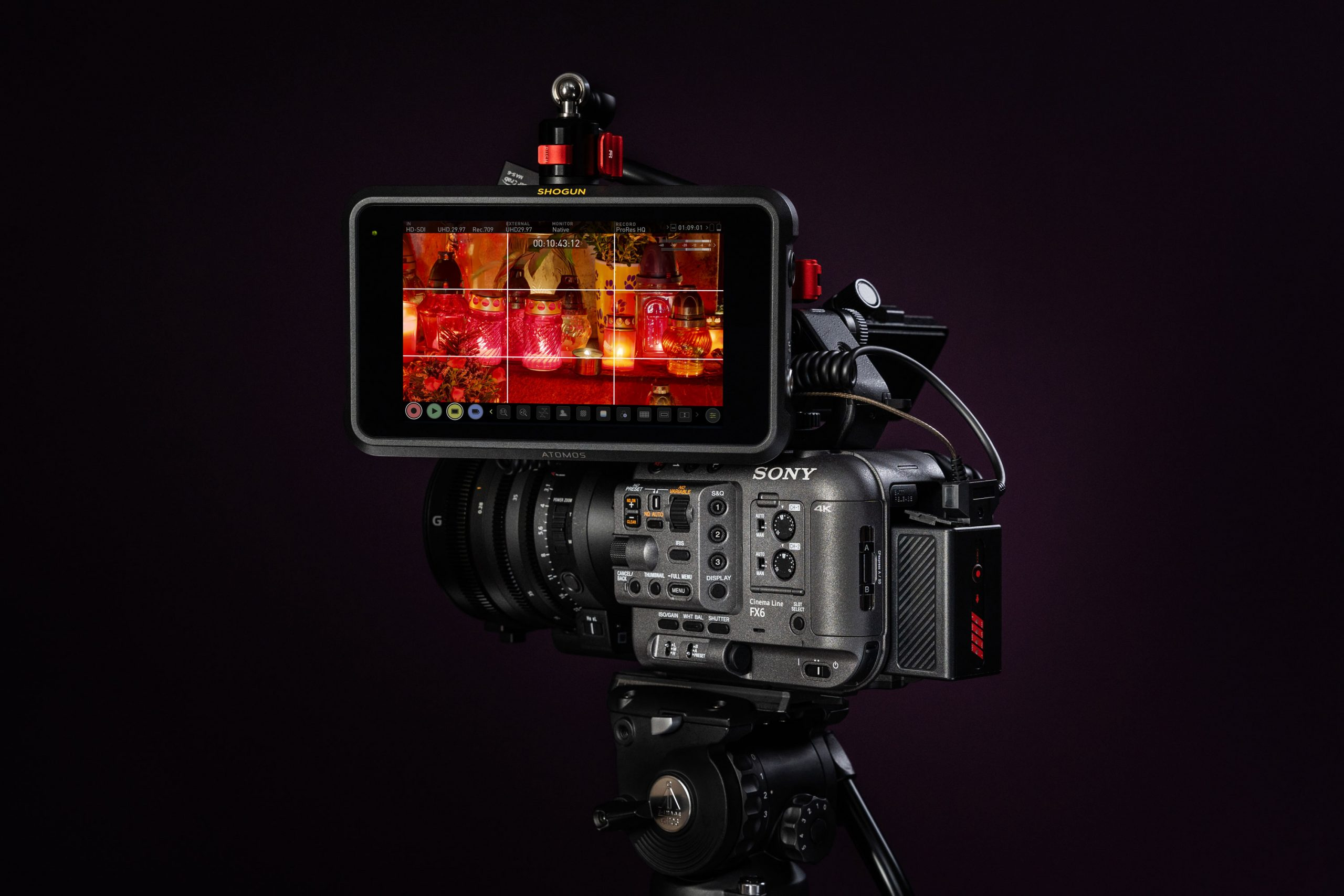 ProRes RAW recording with Shogun 7 & Sony FX6