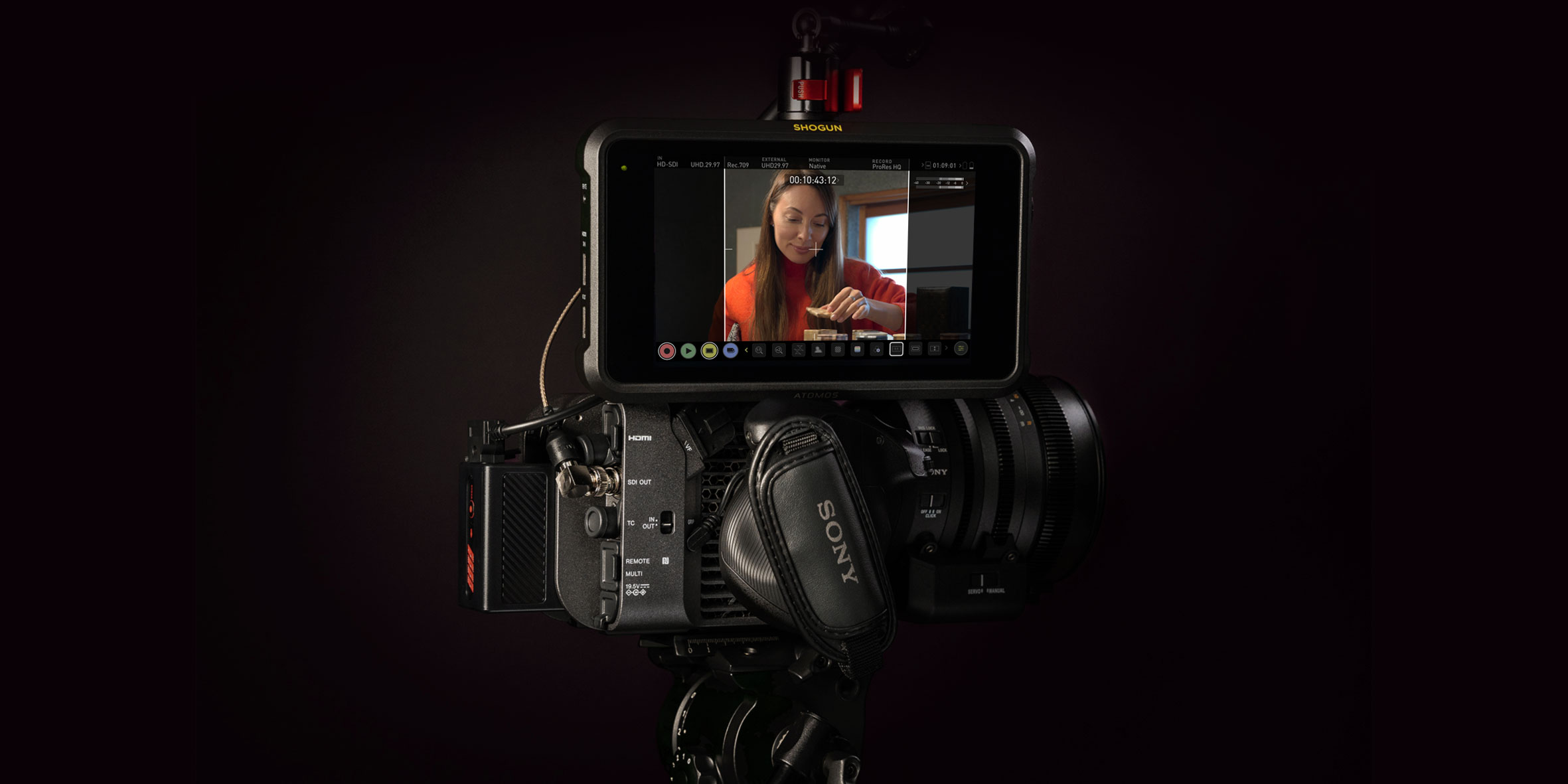 Shogun 7 & the Sony FX6 takes your production to another level