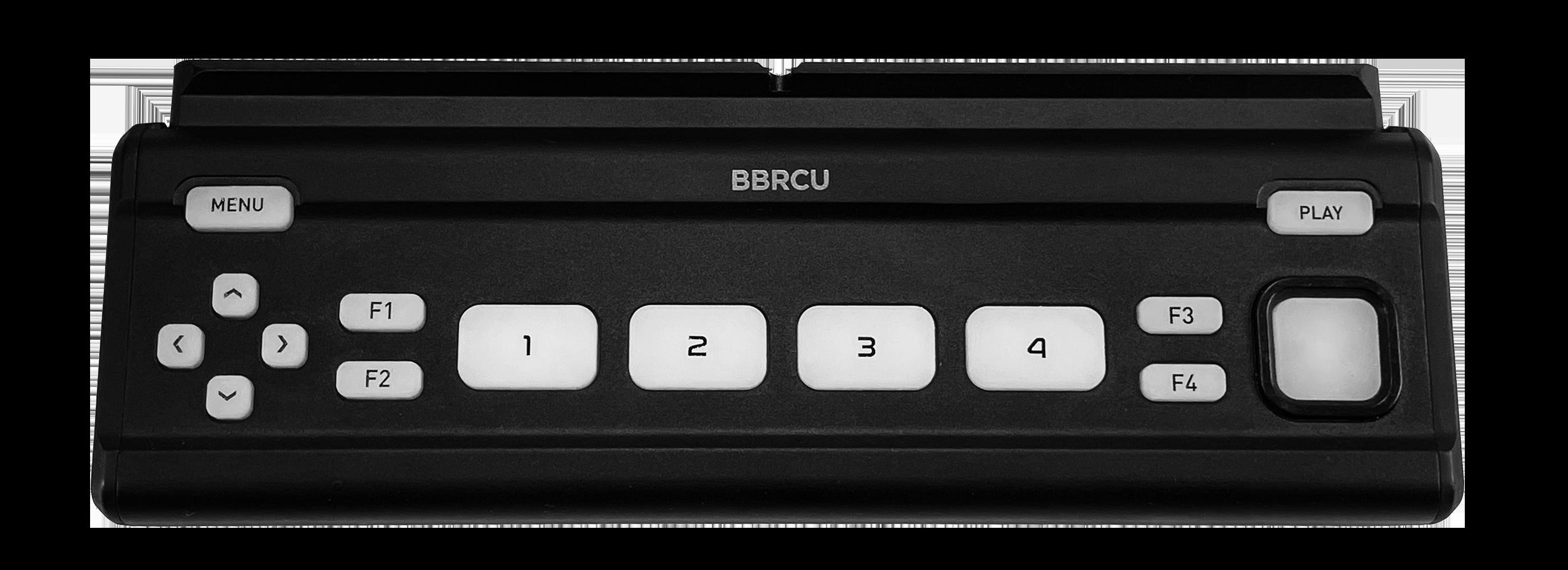BBRCU - Button Bar Remote Control Unit