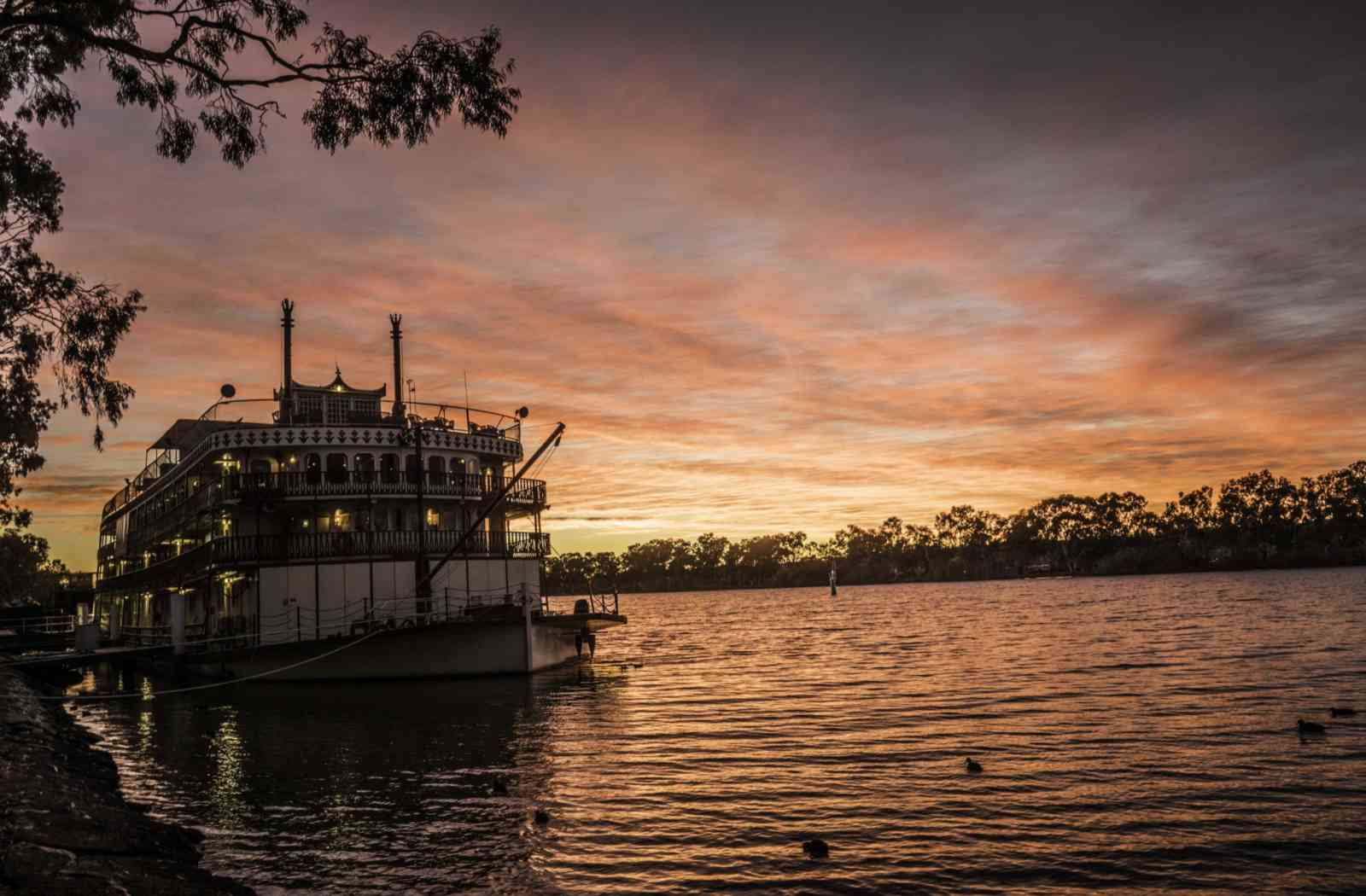 3 night murray river cruise captain cook cruises - HD 1600×1050