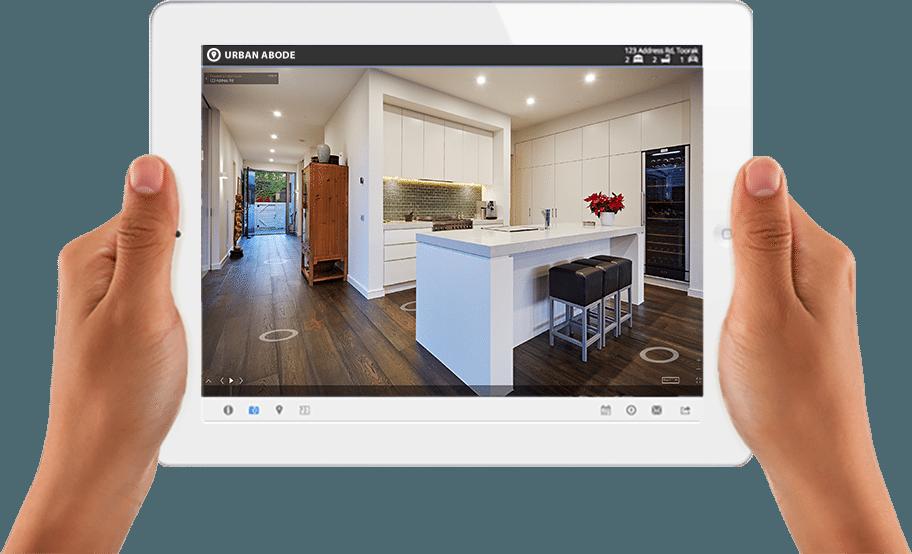 Display of 360° Virtual Tour page