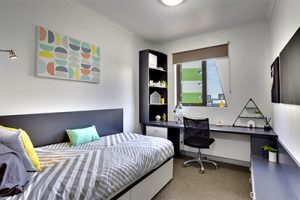 Urbanest South Bank guide to student living single ensuite room designed for students