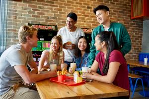 Urbanest students socialising