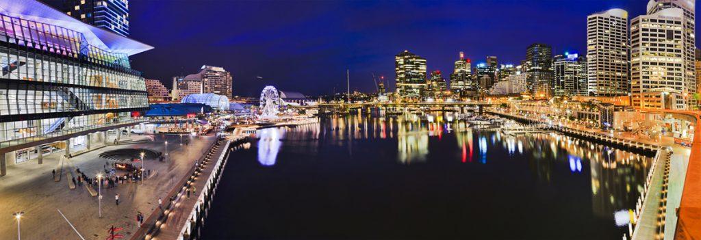 Urbanest Sydney central location Darling Harbour suburb profile student accommodation Australia