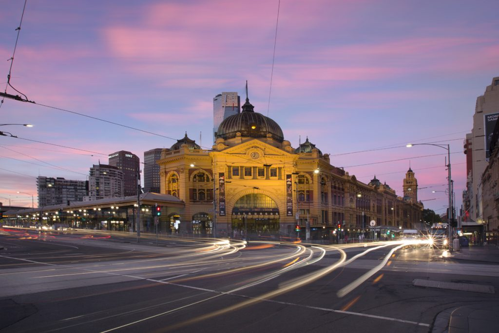 Urbanest centrally located near Flinders Streeet station Melbourne Australia