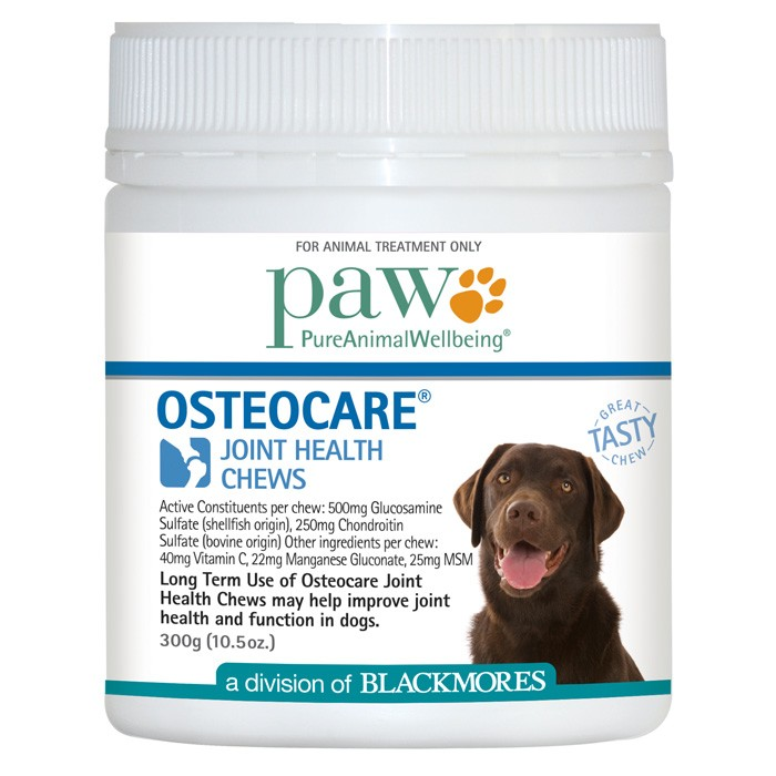 product sample PAW Osteocare Joint Health Chews