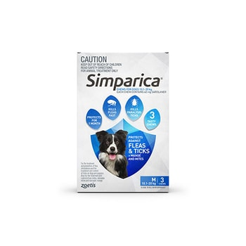 Simparica Medium 3 Pack 10.1 - 20kg