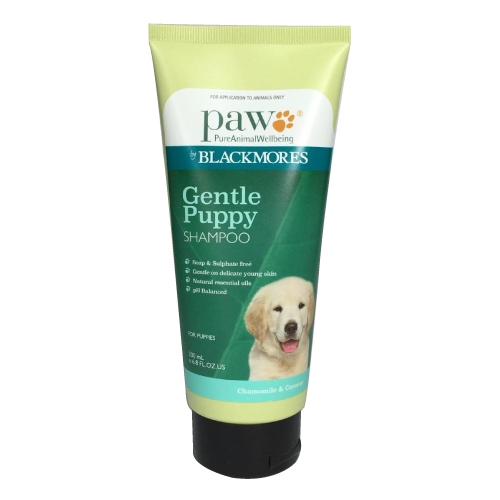 product sample PAW Puppy Gentle Shampoo
