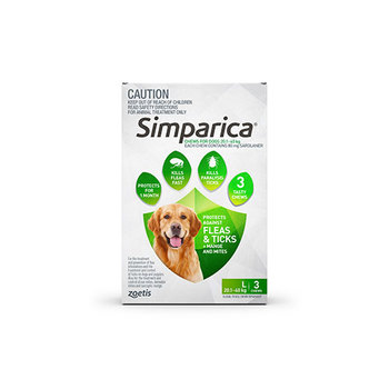 Simparica Large 3 Pack 20.1 - 40kg