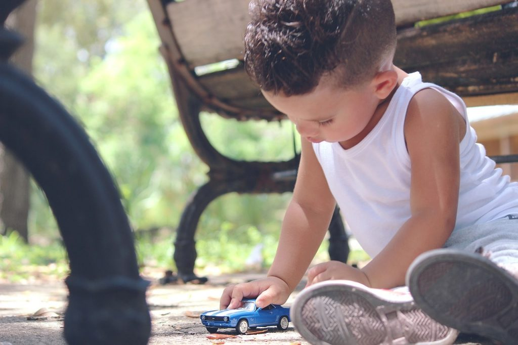 toy-car-playing-in-park