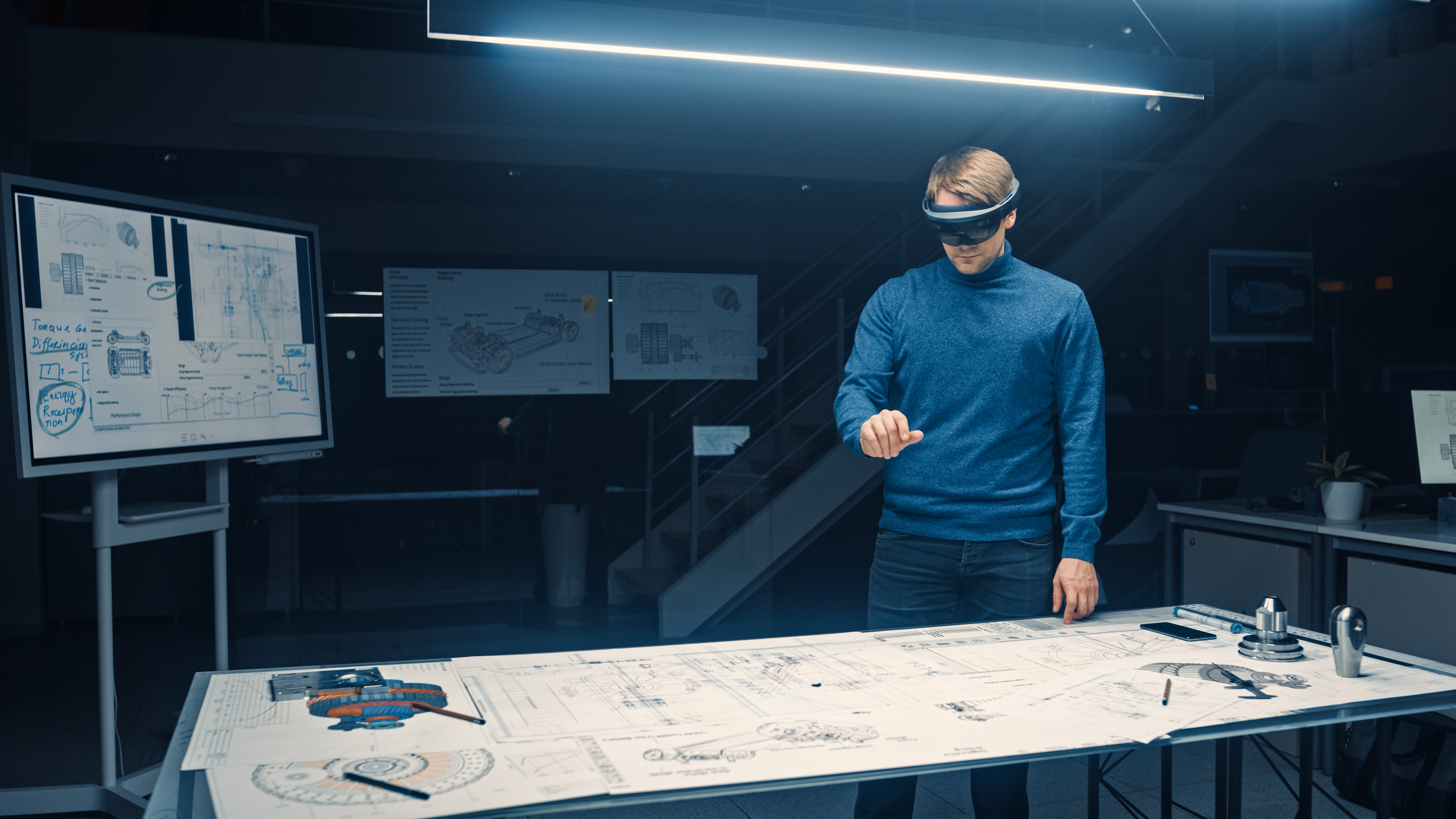 augmented reality application for automotive design and production