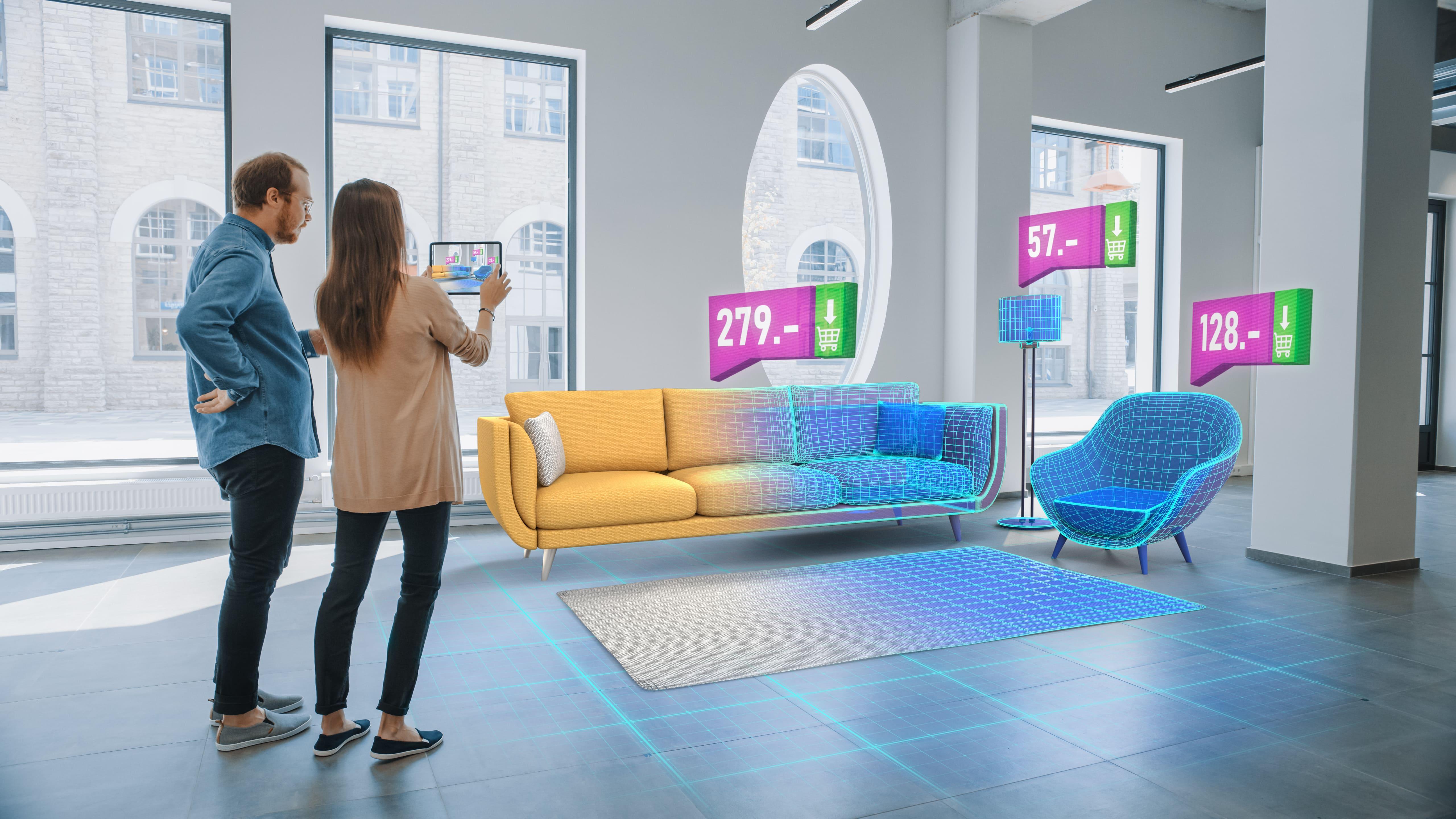 virtual reality application for retail: virtual reality store