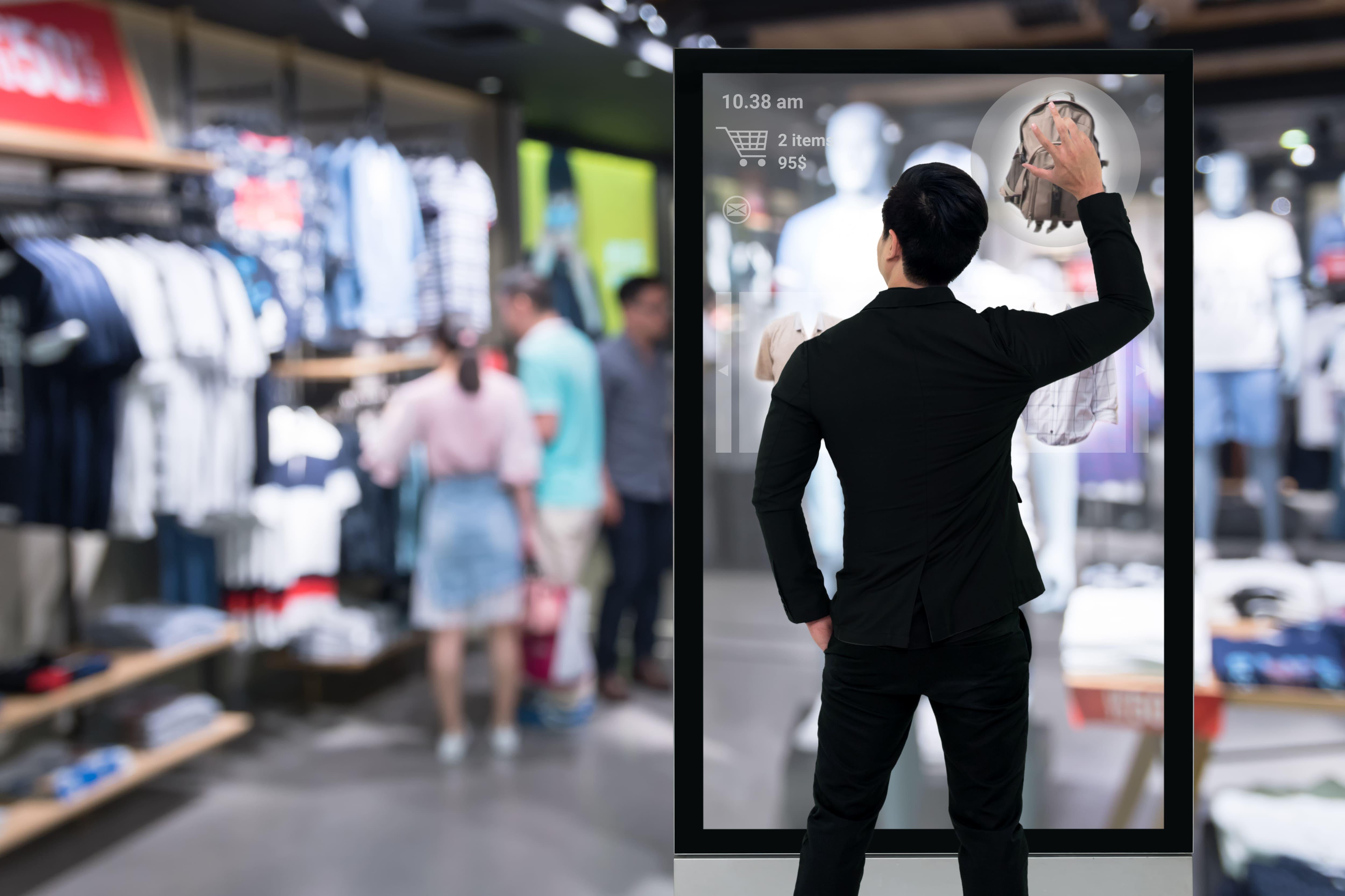 virtual reality application for retail: virtual showroom