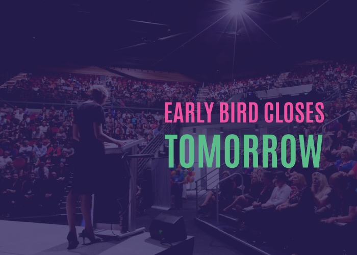 Second Last Day to Secure Early Bird Pricing for NVC image