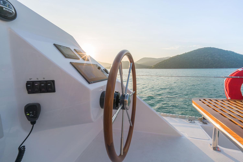 image of Island Spirit 410 sailing catamaran