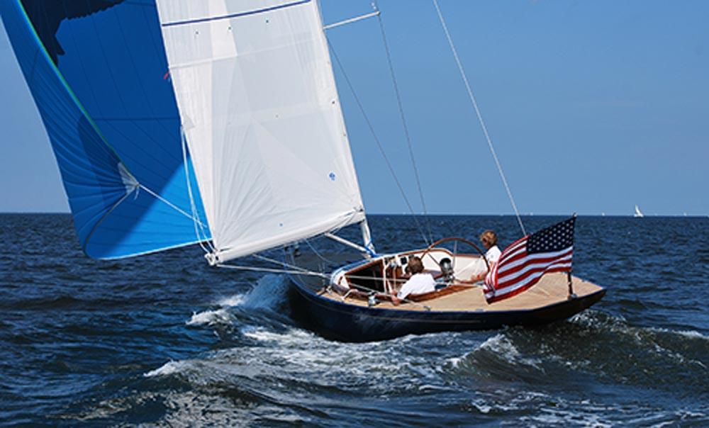 Eagle 44 sailing