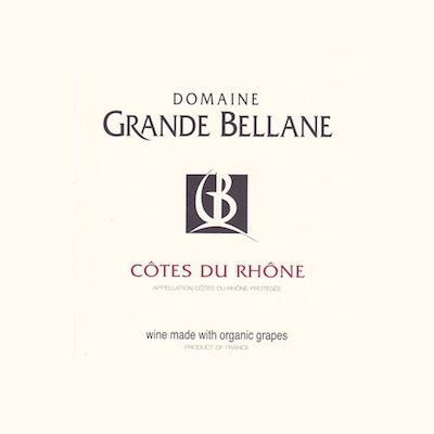 Grande Bellane Cote Du Rhone White 2012