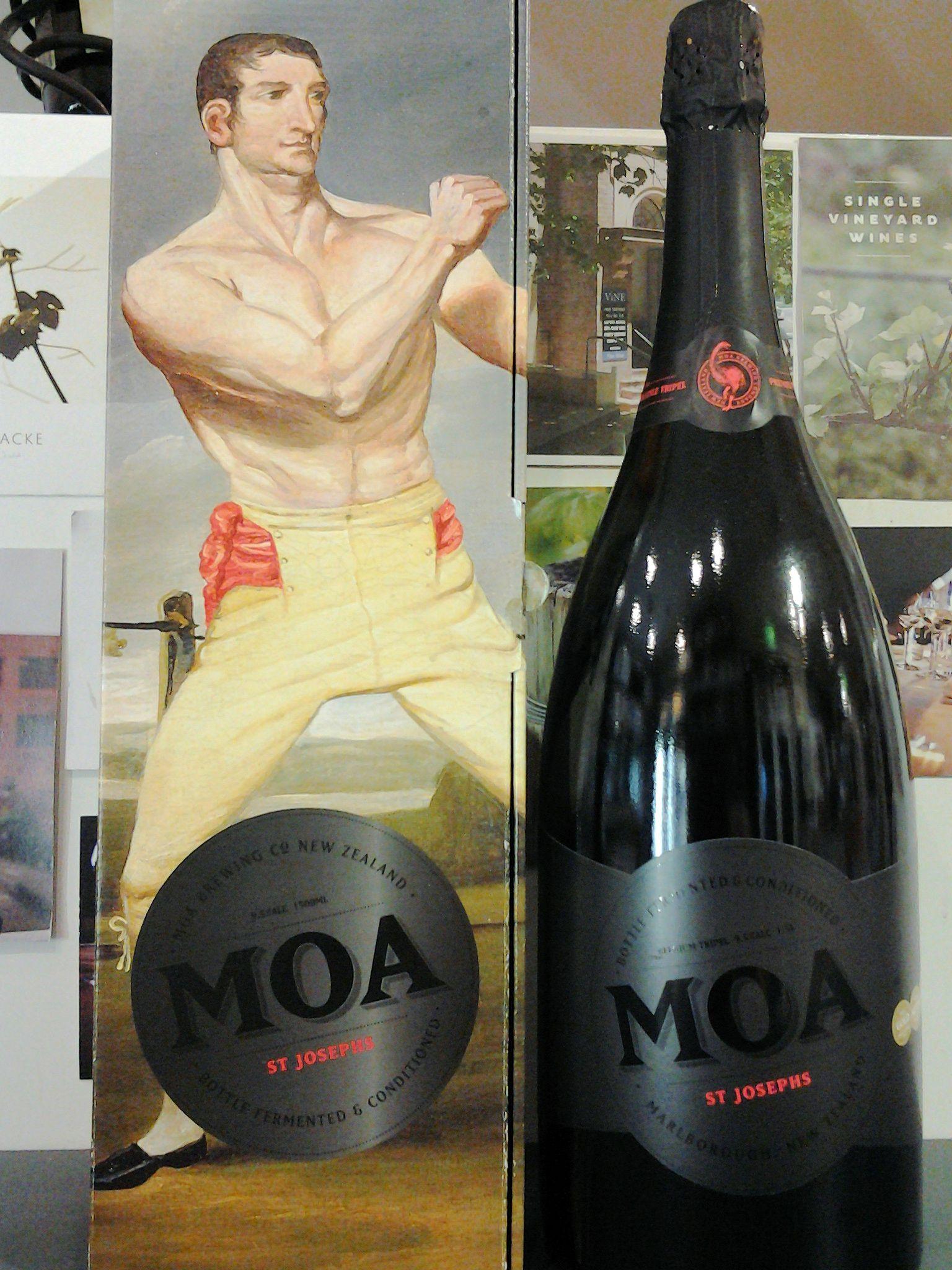 Win a Magnum of Moa St Joseph