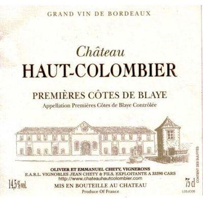 Chateau Haut Colombier Blaye 2006