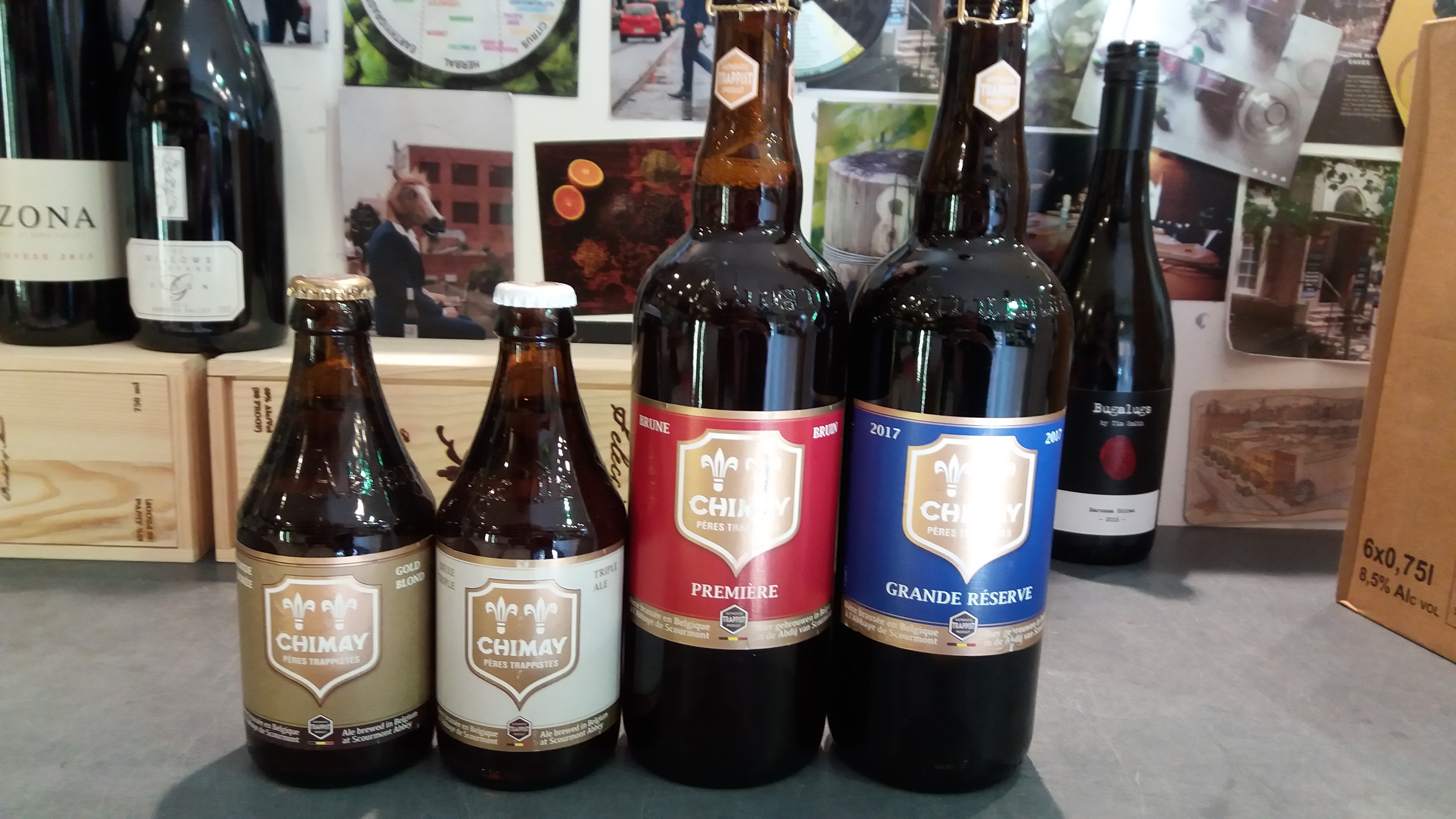 Chimay Tasting this Saturday from 4pm