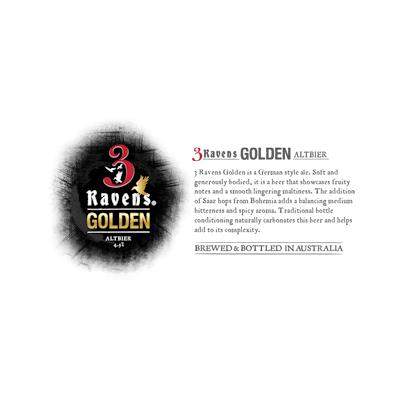 3 Raven Golden Altbier