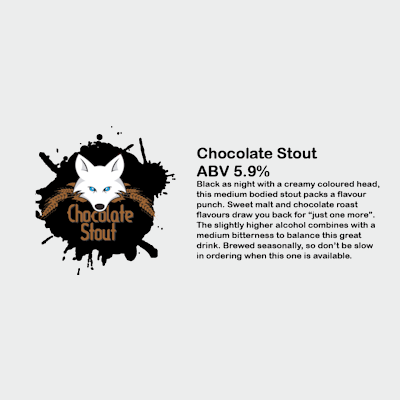 Arctic Fox Chocolate Stout