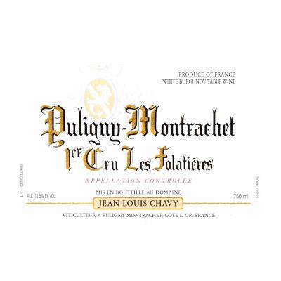 Jean Louis Chavy Puligny Montrachet 2011