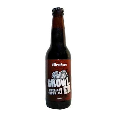 Two Brothers Brewing Growler American Brown Ale